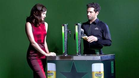 Eco-Friendly Beer Kegs - Heineken's Green Draught System is Making Waves This Earth Day