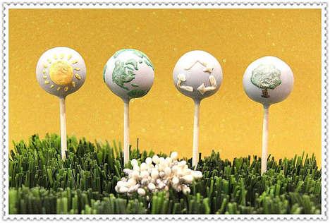 Planetary Cake Pops