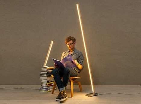 Slender Vertical Illuminators