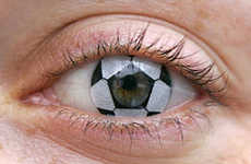 Soccer Contact Lenses - World Cup Eye Balls