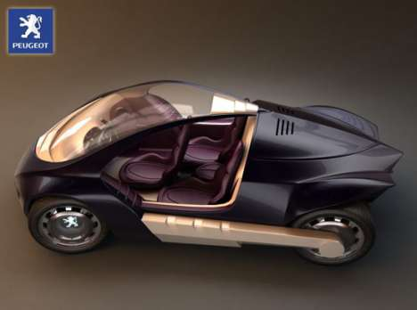 3 Seater Hybrid Concept Cars