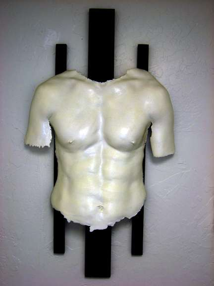 Male Body Casting - Pecs & Posteriors for Posterity