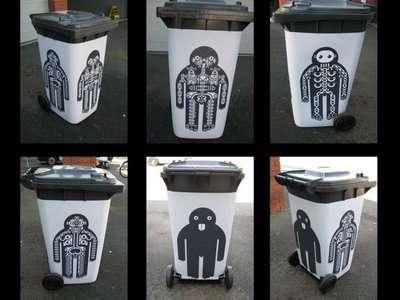 Guerrilla Trashcan Makeovers