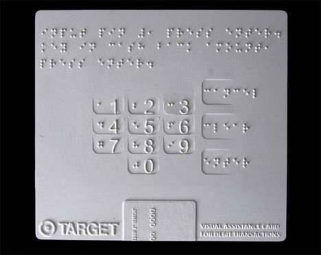 Braille PIN Cards