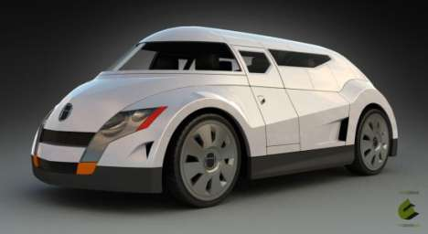 Creative Unit's Hinterland Electric Cars