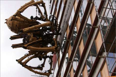 15 Meter Tall Spiders