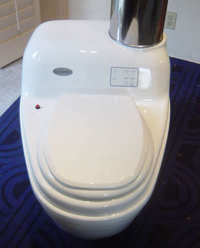 Incinerating Waterless Toilets - The EcoJohn Senior