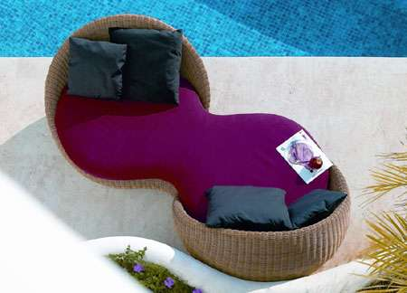 Luxury Resort Furniture - The Bubble Daybed