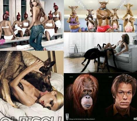 40 Animalistic Ads