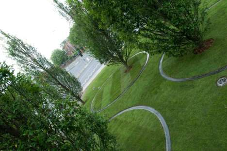 Spinning Trees as Art