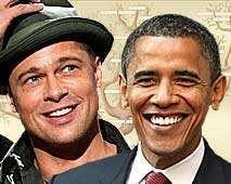Famous Degrees of Separation - Brad Pitt, Barack Obama Are 9th Cousins