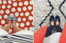 Aerial Shoe Photoblogs - View from the Topp is an Instagram Account that Focuses on Footwear