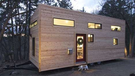 Portable Compact Homes - This Creative Home on Wheels is the Perfect Solution for Smaller Spaces