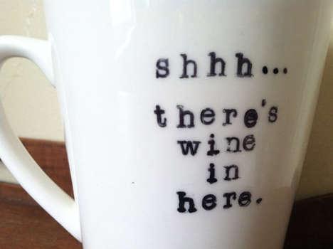 Booze-Concealing Mugs