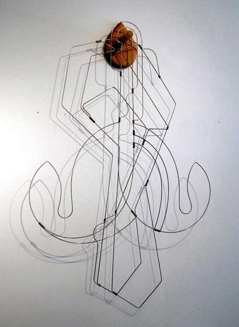 Wire City Sculptures