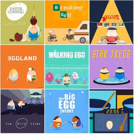 Eggy Pop Culture Parodies