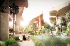 Desert Oasis Parks - This Public Park Design is Innovative and an Architectural Masterpiece