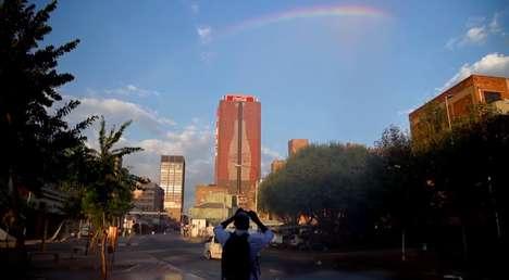 Rainbow-Accompanied Ads