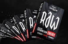 Energizing Chewing Gums - Raw Energy Gum Delivers a Boost Like an Energy Drink