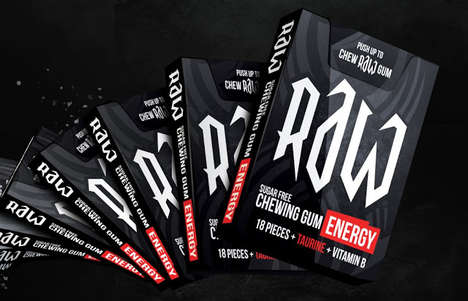 Energizing Chewing Gums