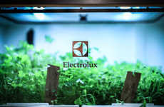 Self-Replenishing Home Gardens - The Electrolux Home Garden Gives Users Access to Yearly Herbs