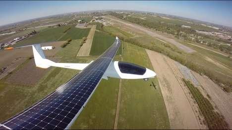 Trailblazing Solar Aircrafts