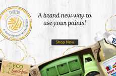 Eco E-Commerce Rewards - Recyclebank and One Twine Let You Pay with Environmentally Friendly Acts