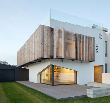 Louver-Panelled Abodes