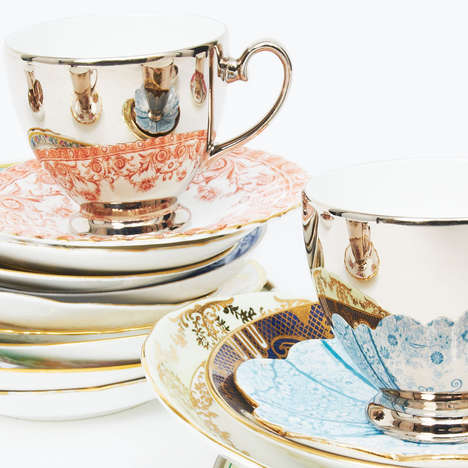 Cleverly Mirrored Teacups