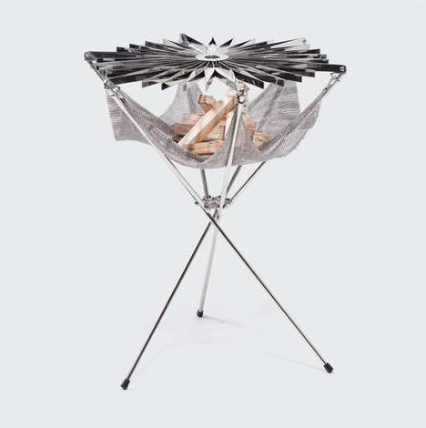 Origami-Inspired Barbecues