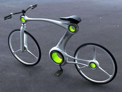 Posture-Adjusting Bikes