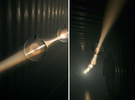 Layered Luminescent Installations