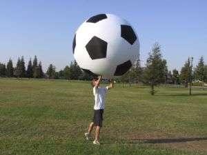 Gargantuan Soccer Balls