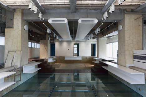 Glazed Waterless Swimming Pools
