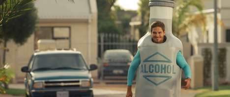 Hilarious Slo-Mo Booze Ads - Seth & Riley's Garage Hard Lemonade Brands Itself as 'Genius, Kind Of'