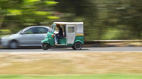 Smartphoneless Rickshaw Rides