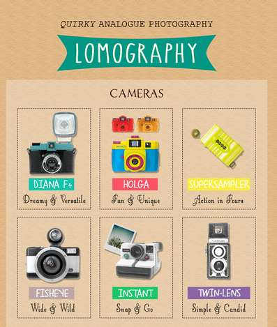 Hipster Camera Infographics