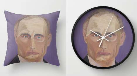 Presidentially Marked Merchandise - These Random Items Have George W. Bush's Artwork on Them