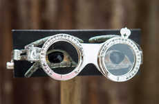 Eye-Testing Glasses - Hiroshi Sugimoto Harnesses Optical Testing for Selima Optique