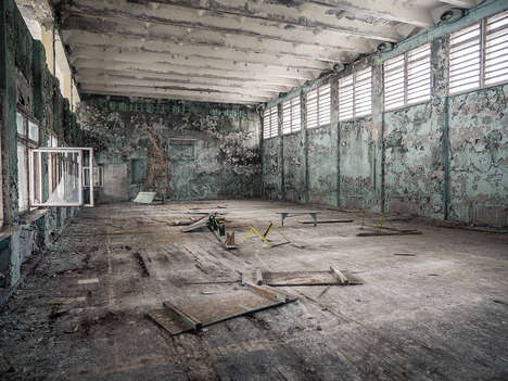Radioactive Recovery Site Photos - These Stunning Photos From Chernobyl are Taken 28 Years Later