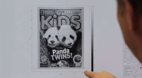 3D Miniscule Magazines - The World's Smallest Magazine Cover Was Created by IBM 3D