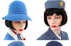 Stewardess Evolution Catalogs - Uniform Freak Shows How the Stewardess Has Evolved Over the Years