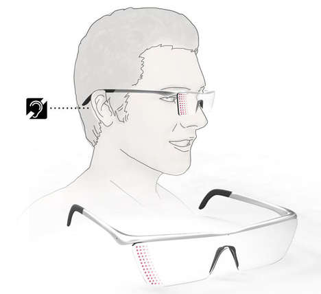 Audible Alarm Glasses