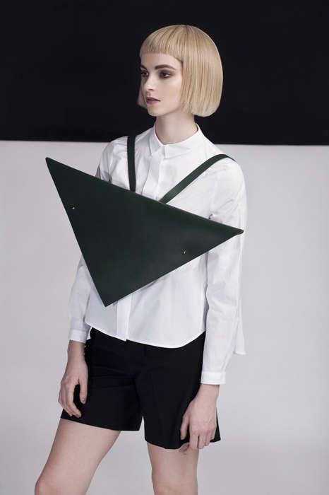 Triangular Post-Modern Purses