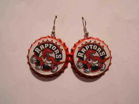 Boozy Basketball Earrings