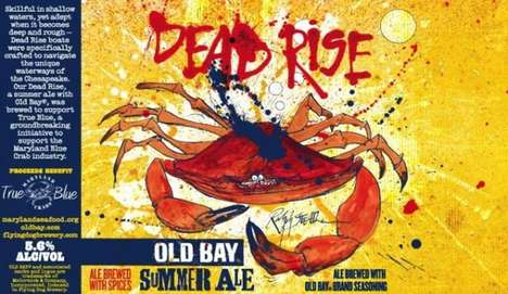 Spiced Summer Beers - Old Bay Seasoned Beer is Spicing Up Summer with a New Brew