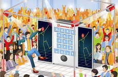 Dance-Rewarding Vending Machines