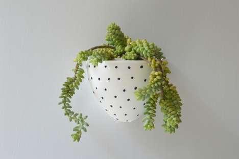 Polka-Dot Planters