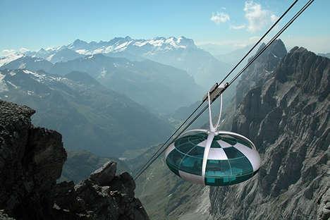 Panoramic Rounded Gondolas