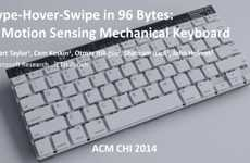 Gesture-Tracking Keyboard Research - Microsoft's Motion Sensing Keyboard was Explored as a Prototype